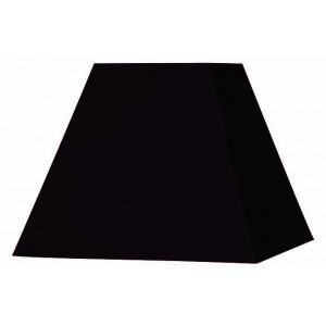 Abat-jour carré pyramide noir