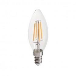 Ampoule E14 flamme filament LED 4W (environ 40W)