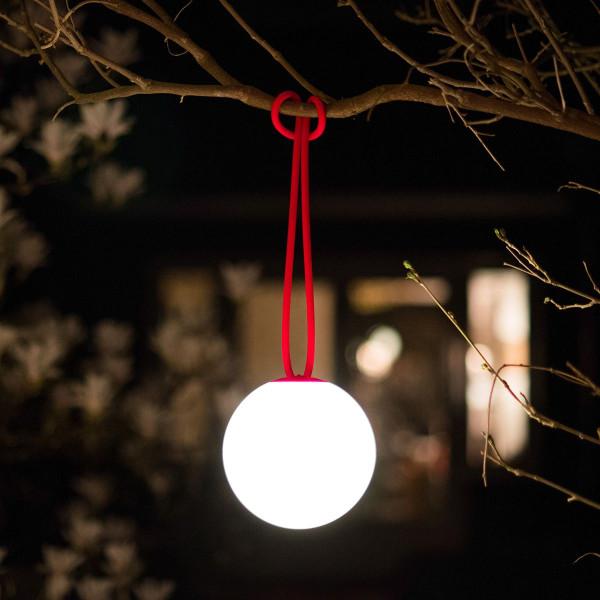Lampe LED rouge Fatboy