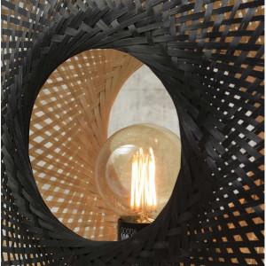 Petite lampe à poser en bambou