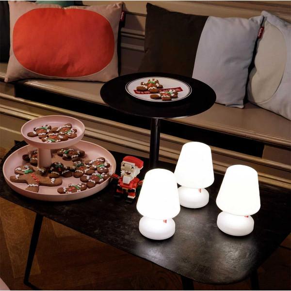 Lampe de décoration de table blanche