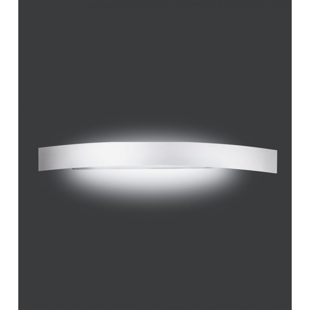 Applique murale grise design aluminium sur lampe avenue - Grande applique murale design ...