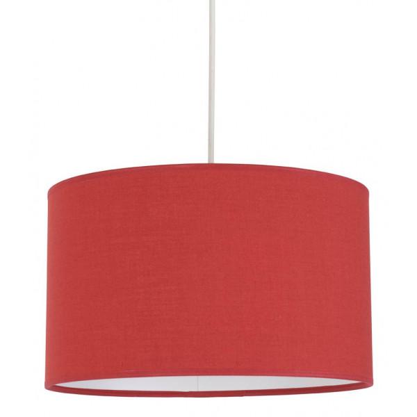 Suspension luminaire rouge d couvrir sur lampe avenue for Suspension pour sejour