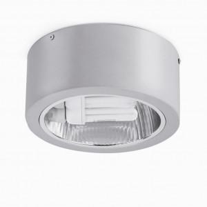 Plafonnier spot design gris Faro