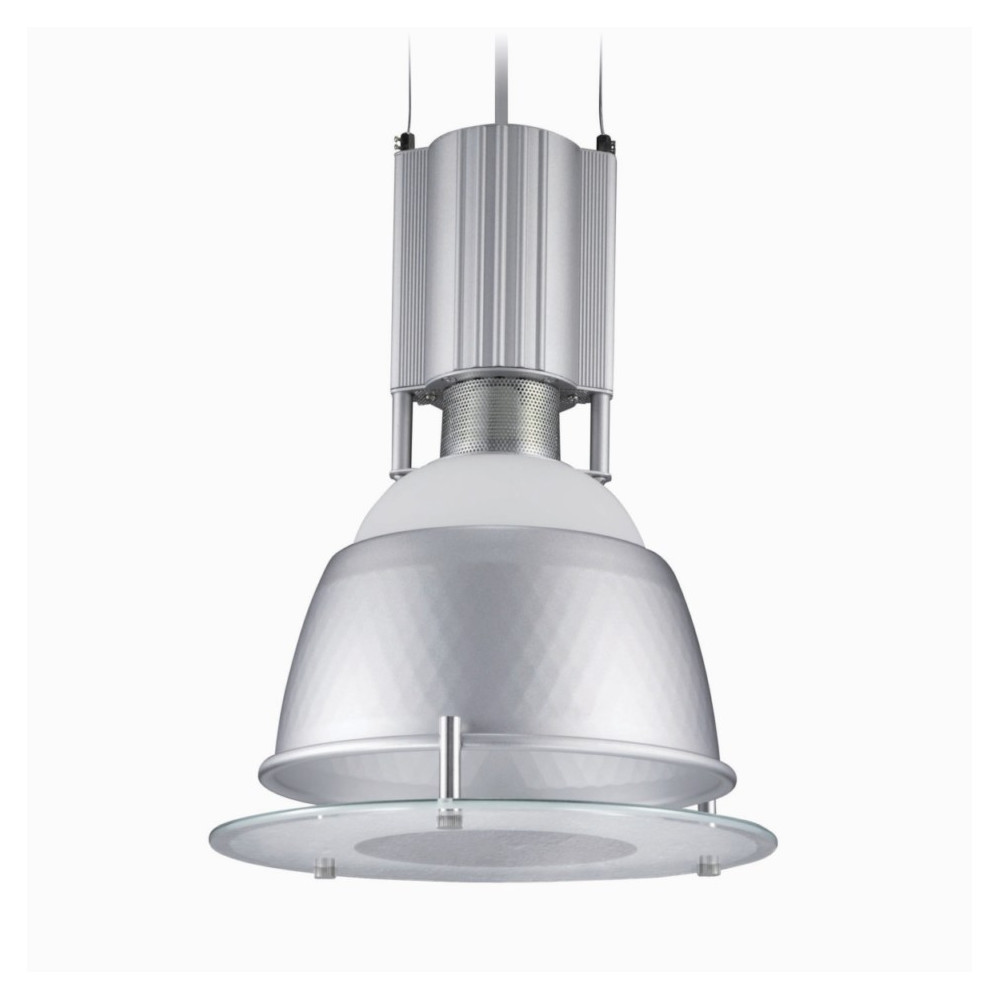 Suspension industrielle avec diffuseur en vente sur for Suspension luminaire exterieur design