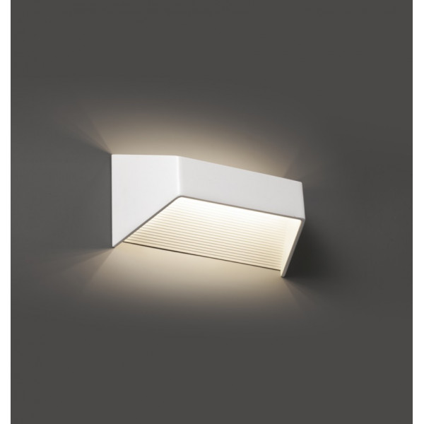 Applique murale blanche design LED Faro