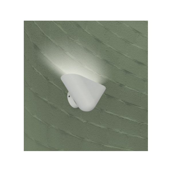 Applique murale blanche design Faro
