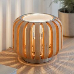 Lampe de table en frêne