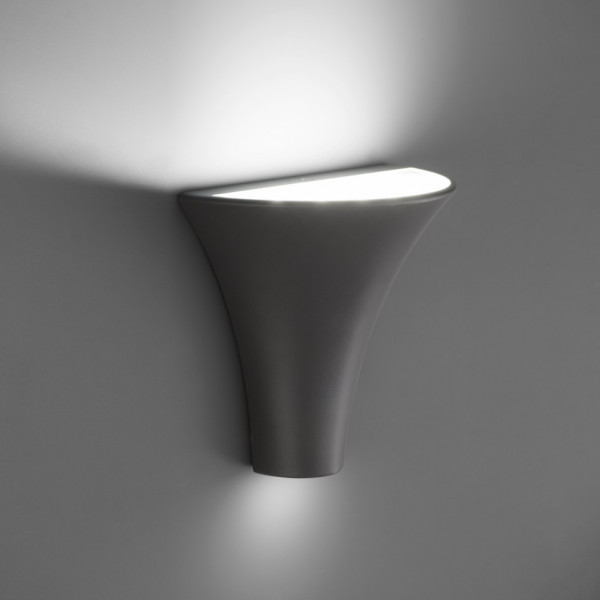 Applique led ext rieur design gris fonc en vente sur for Lampe exterieur led design