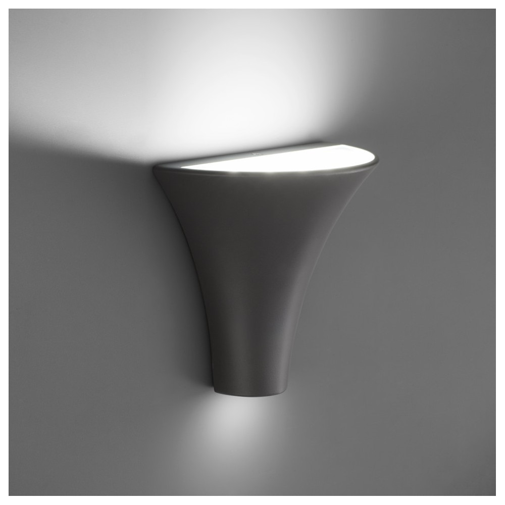 Applique led ext rieur design gris fonc en vente sur for Applique exterieur faro