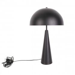 Lampe de table fer noir
