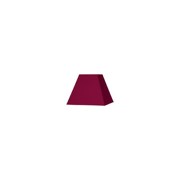 Abat-jour carré pyramide prune