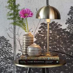 Lampe de table design or Bonnet - H39cm