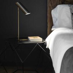 Lampe de table design Link bronze