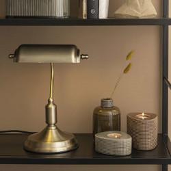 Lampe de bureau or