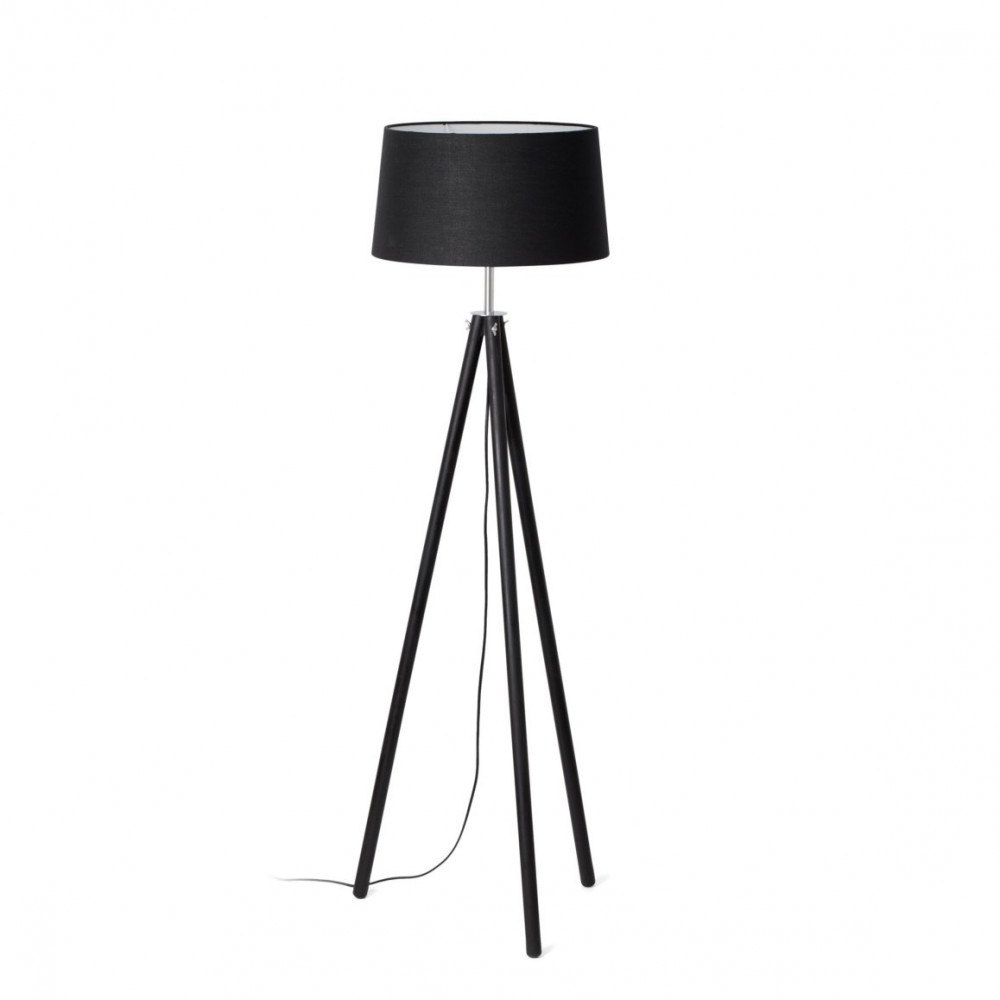 lampadaire noir tr pied en vente sur lampe avenue. Black Bedroom Furniture Sets. Home Design Ideas