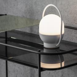 lampe portable blanche