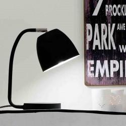 Lampe chevet noire design