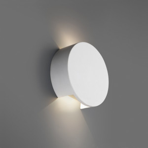 Applique blanche LED design Faro