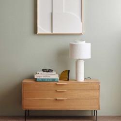 Lampe de table blanche Gesso