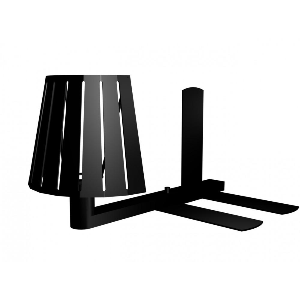 lampe noire cale livre pour biblioth que en vente sur. Black Bedroom Furniture Sets. Home Design Ideas