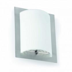 Applique rectangulaire métal et verre Faro