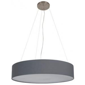suspension xxl grise quip e d 39 un diffuseur disponible sur lampe avenue. Black Bedroom Furniture Sets. Home Design Ideas