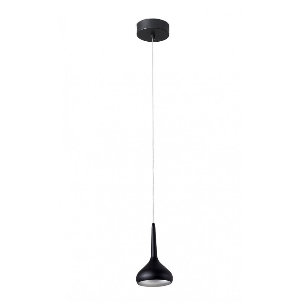 Suspension noire id ale pour un bar ou une cuisine for Suspension led cuisine