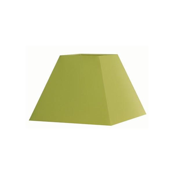 abat jour carr pyramide vert acheter un abat jour carr. Black Bedroom Furniture Sets. Home Design Ideas