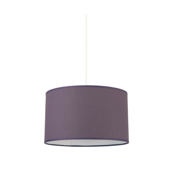 suspension classique violette foncée