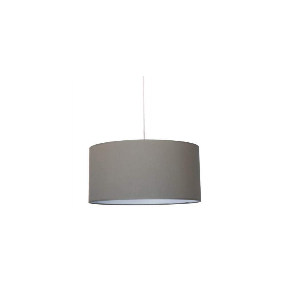 suspension abat jour cylindre taupe achat sur lampe avenue. Black Bedroom Furniture Sets. Home Design Ideas