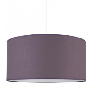 Grande suspension violette foncée