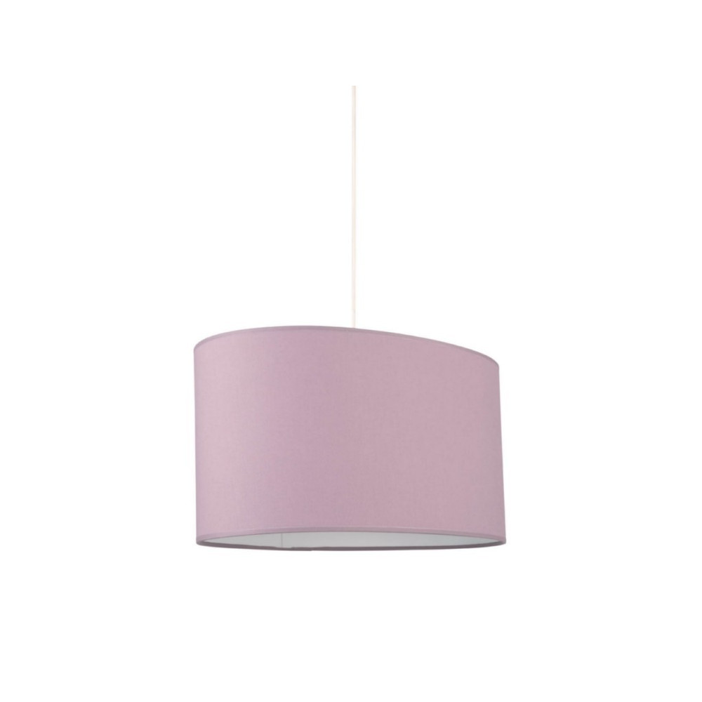 suspension ovale abat jour violet luminaire int rieur sur lampe avenue. Black Bedroom Furniture Sets. Home Design Ideas