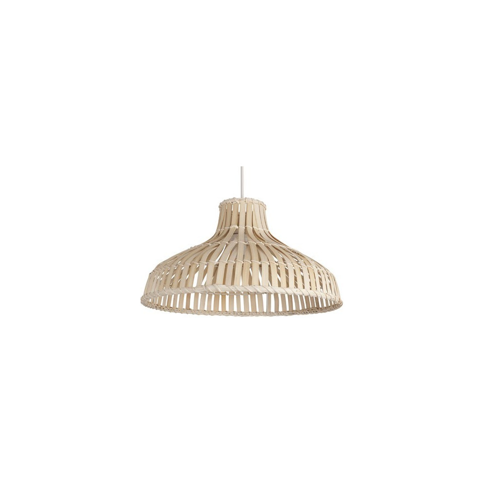 suspension bambou tress coloris naturel luminaire de d co sur lampe avenue. Black Bedroom Furniture Sets. Home Design Ideas