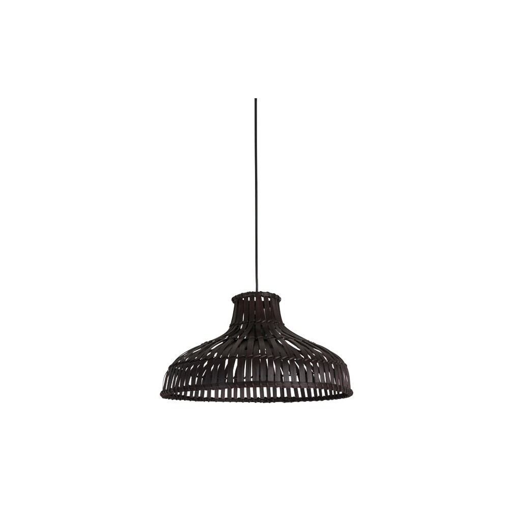 suspension en bambou tress brun vente luminaire d co. Black Bedroom Furniture Sets. Home Design Ideas