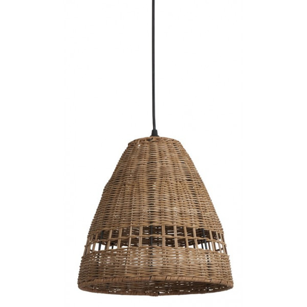 Suspension en rotin tress naturel luminaire int rieur - Suspension en rotin tresse ...
