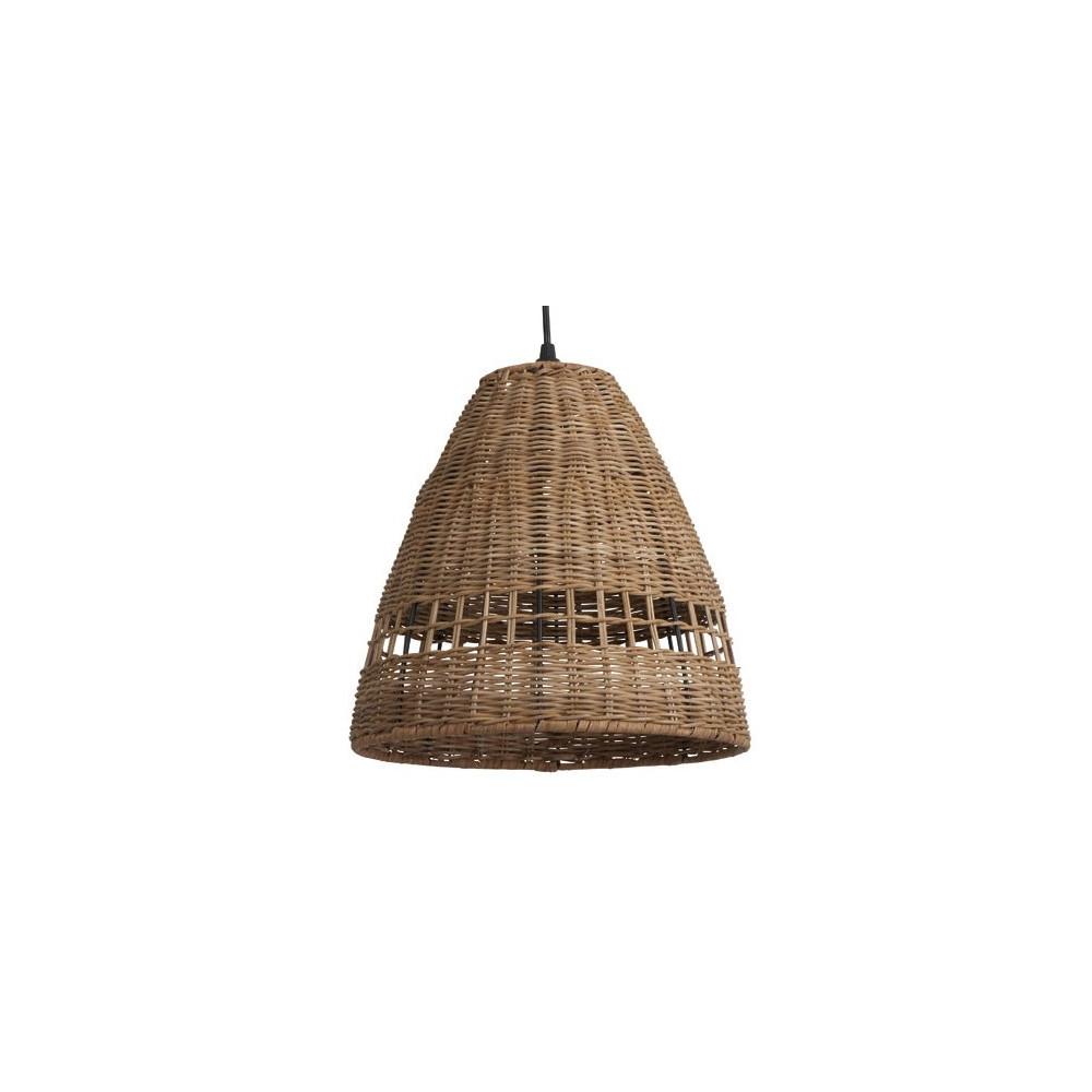 suspension en rotin tress naturel luminaire int rieur sur lampe avenue. Black Bedroom Furniture Sets. Home Design Ideas