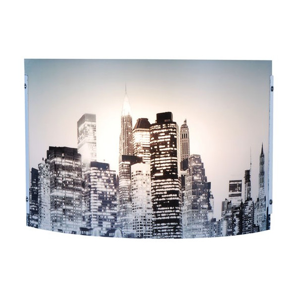 Applique murale new york luminaire d co sur lampe avenue for Poubelle new york chambre