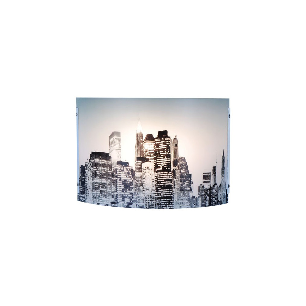 Applique murale new york luminaire d co sur lampe avenue for Decoration murale geante new york