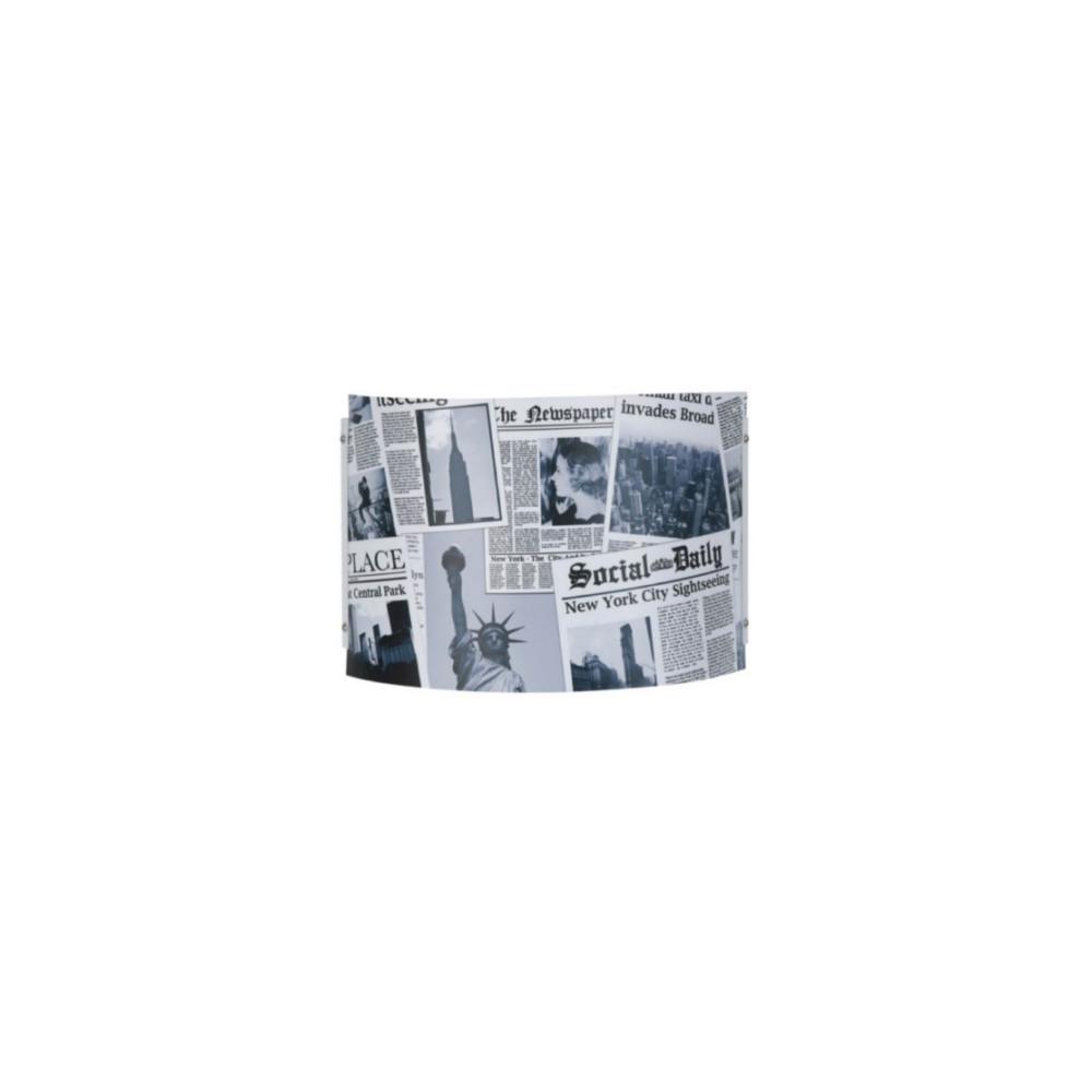 vente applique murale newspaper pour ado sur lampe avenue. Black Bedroom Furniture Sets. Home Design Ideas