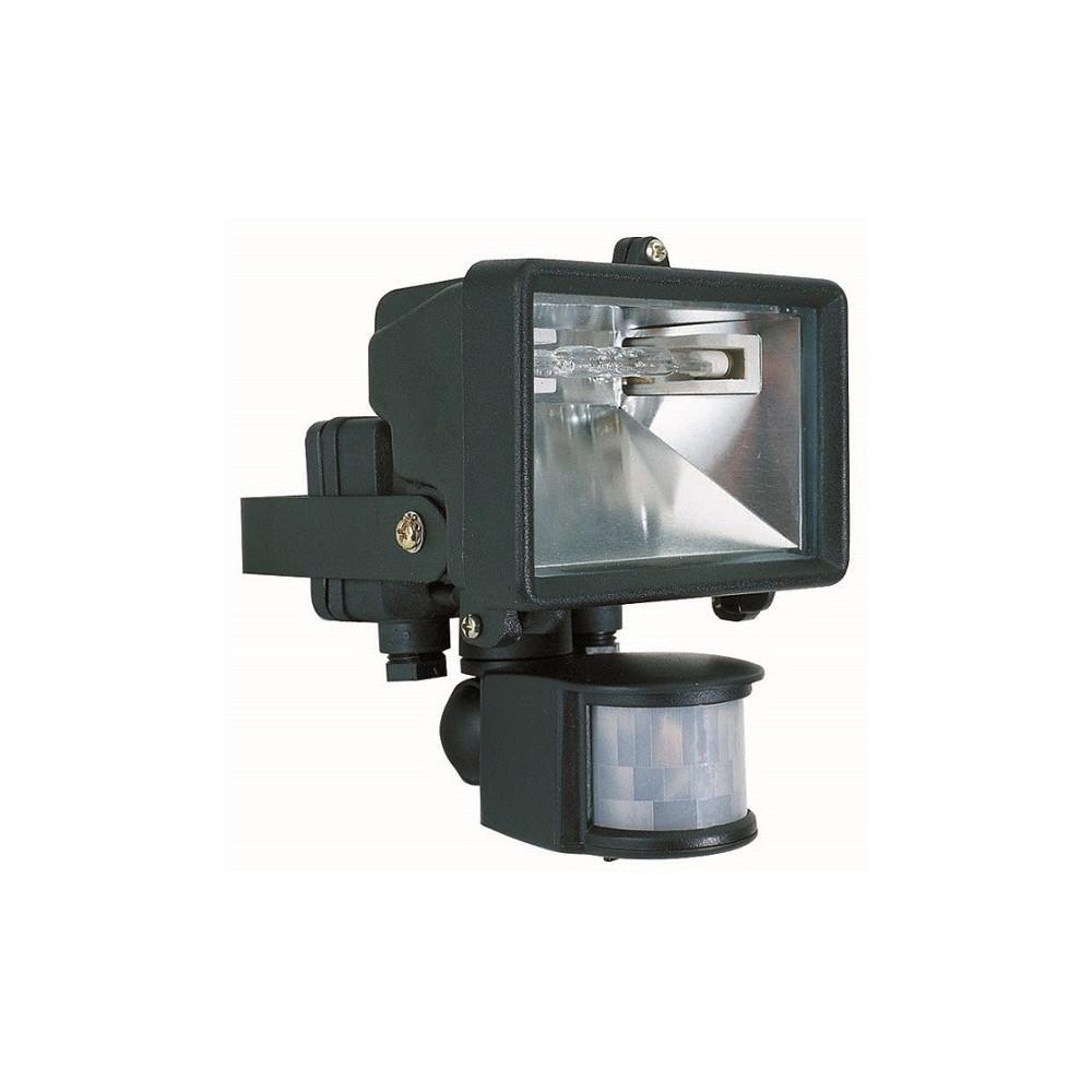 Projecteur ext rieur noir avec d tecteur de mouvement - Lampe detecteur de mouvement exterieur ...