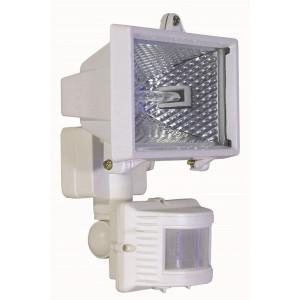 Projecteur blanc détecteur de mouvement