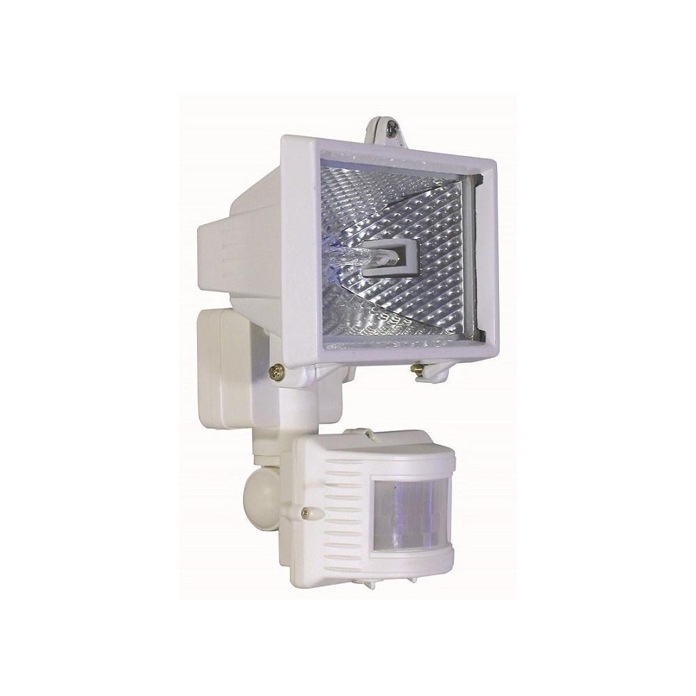Projecteur ext rieur blanc quip d 39 un d tecteur de mouvement for Detecteur de mouvement exterieur eclairage