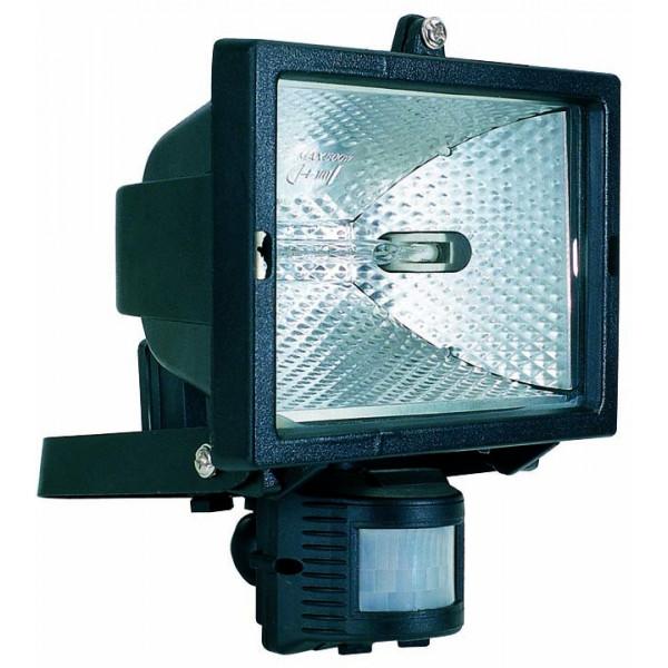 Projecteur noir avec d tecteur de pr sence for Detecteur de presence exterieur