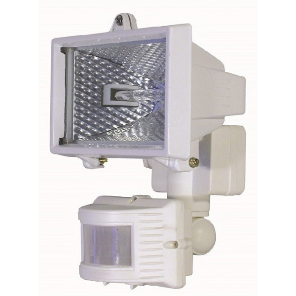 Projecteur blanc détecteur de présence
