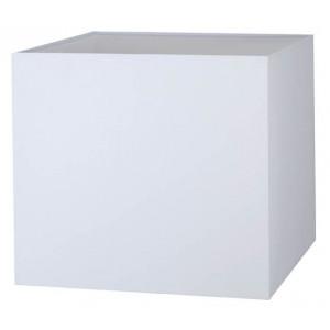 Abat-jour carré blanc