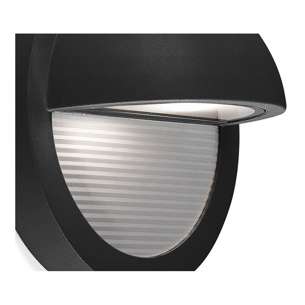 Petite applique design pour l 39 ext rieur toute en aluminium for Lampe a led pour exterieur
