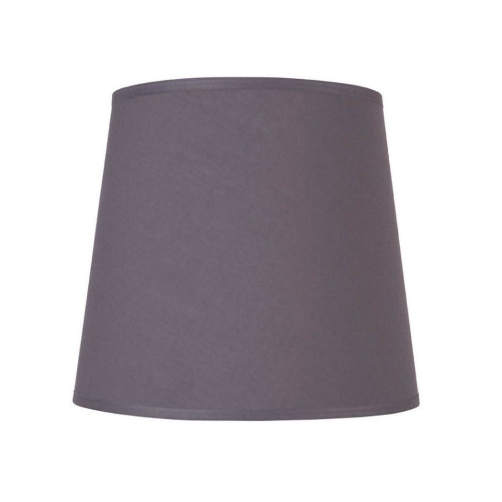 abat jour conique gris fonc sur lampe avenue. Black Bedroom Furniture Sets. Home Design Ideas