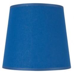 Abat-jour rond conique bleu royal
