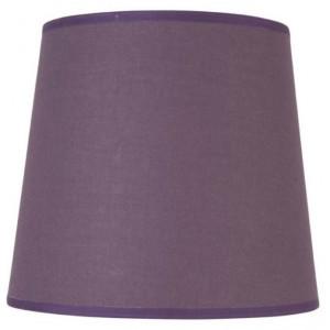Abat-jour conique violet foncé